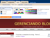 Trocando o template do blog – Parte 3