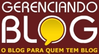 Novo visual do Gerenciando Blog